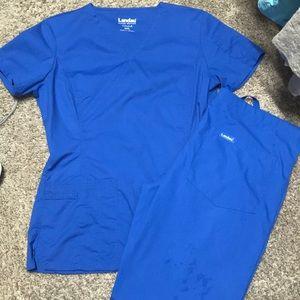 Other - Landau Royal Blue Scrubs